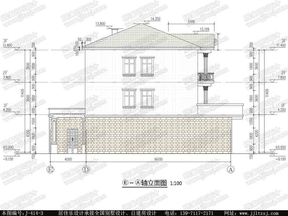 22平方米临街三层楼房设计图 三层临街房屋设计图 12米x20.1米,37