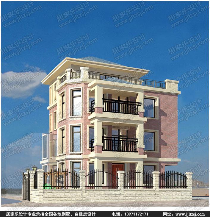 自建四层案例-四层庭院设计-设计房屋-居别墅景观设计论文目录图片