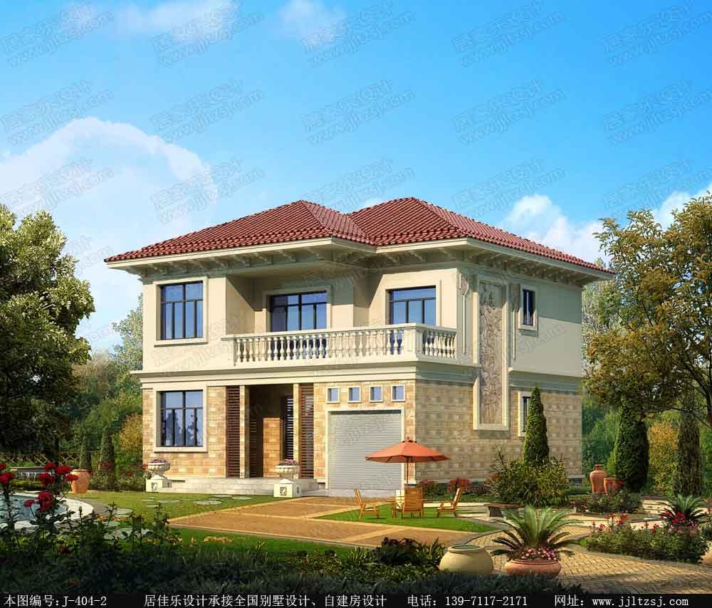 15万农村别墅设计图片 居佳乐建筑设计
