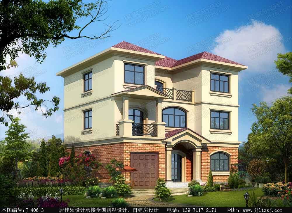 漂亮的别墅外观设计 居佳乐建筑设计