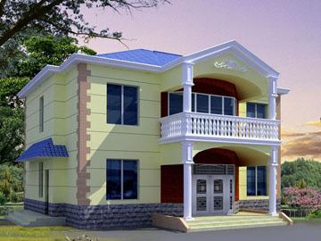 新农村住宅自建二层别墅设计图纸 居佳乐别墅设计