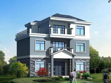 100平米新农村三层自建别墅全套房屋设计施工图(带 .