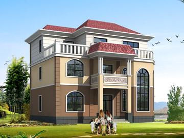 140平米三层房屋设计图,13x12米,22 29万