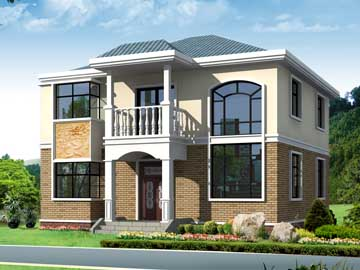 180平米二层小别墅设计图