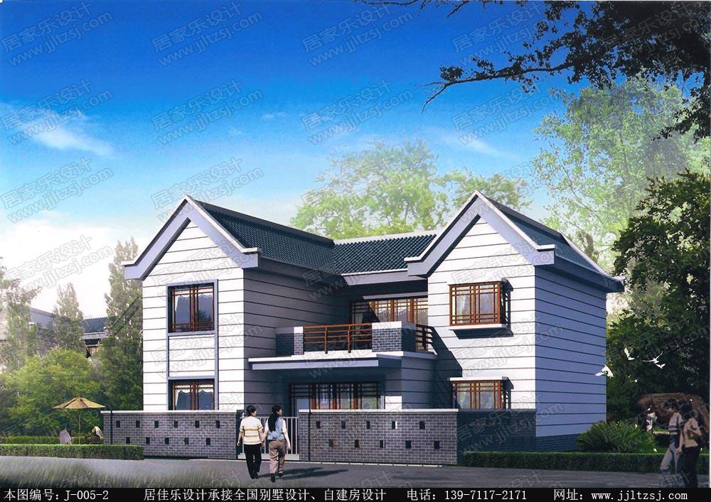 130平米新农村二层自建房别墅施工设计图(带庭院),12x12米,14-18万