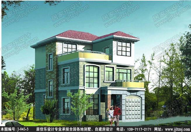 設計圖分享 農村自建房三層復式設計圖  三層農村自建房 別墅設計圖8x