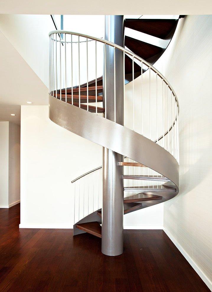 别墅设计中常见的几种楼梯 居佳乐建筑设计