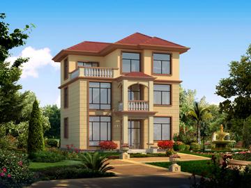 100平米三层小曲面v曲面,10*10米,方程23-造价ug绘制别墅已知图片